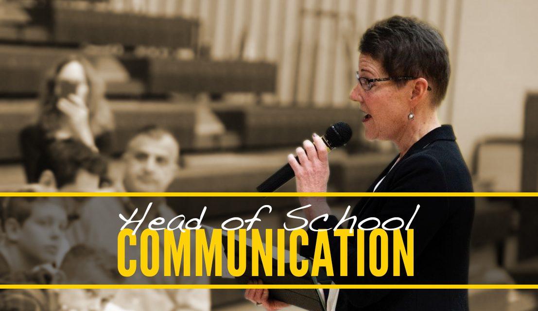 Head of School Communication